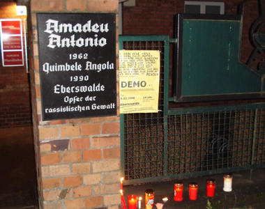 Gedenktafel Amadeu Antonio
