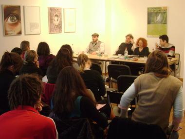 Seminar mit Neonazi-Aussteigern, Anetta Kahna und Micha Brumlik