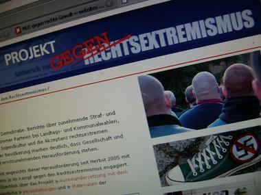 Ausschnitt Fachwebsite der Ebert-Stiftung