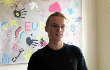 Sebastian Reißig von der Aktion Zivilcourage Pirna
