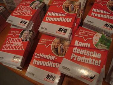 """""""kauft deutsche Produkte""""-Aufkleber"""