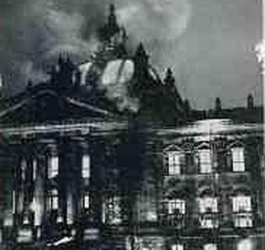 Brennender Reichstag 27.2.1933