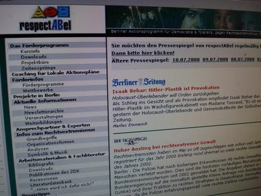 Die Website respectabel.de