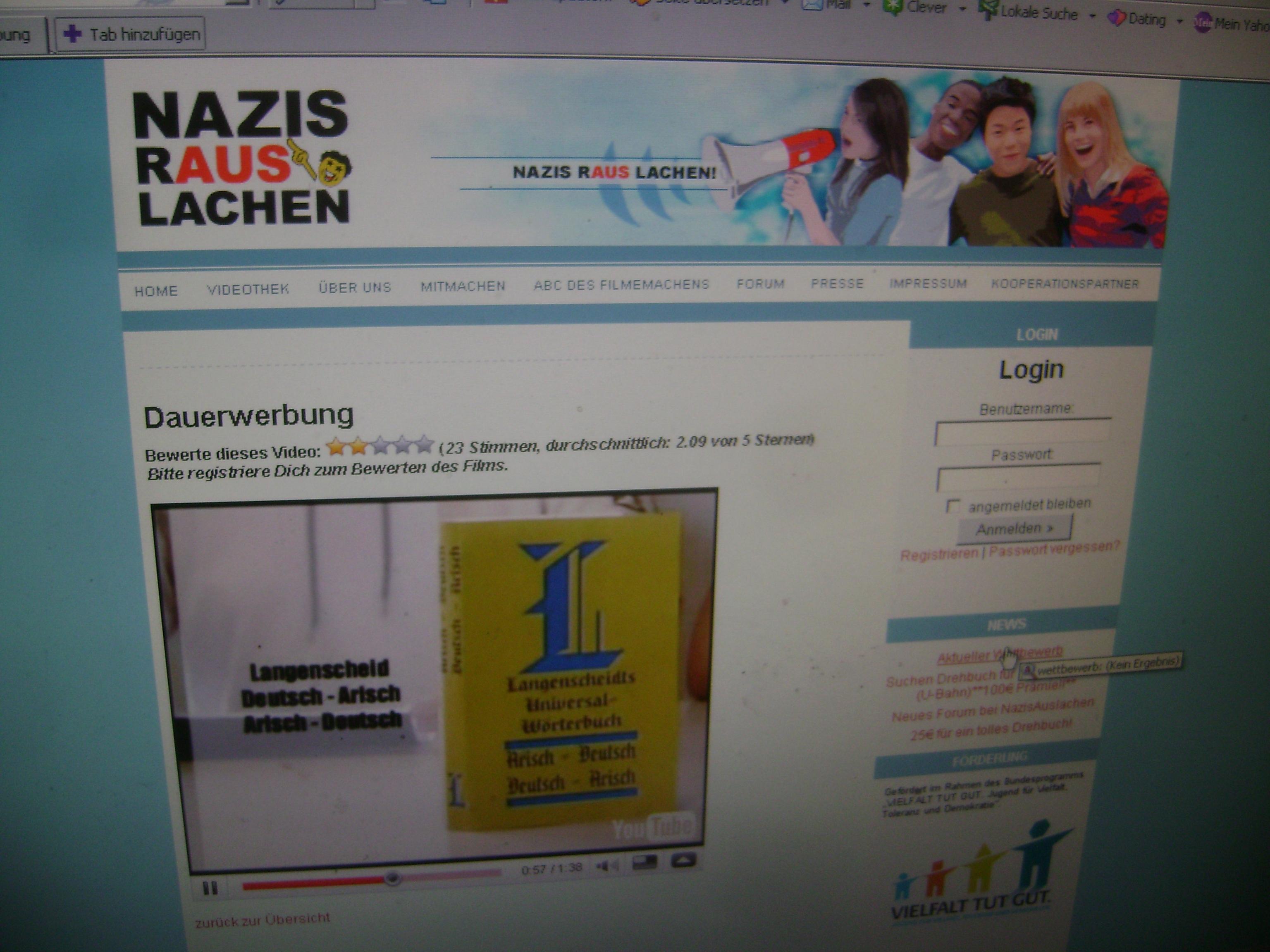 Dating-Website Rassismus